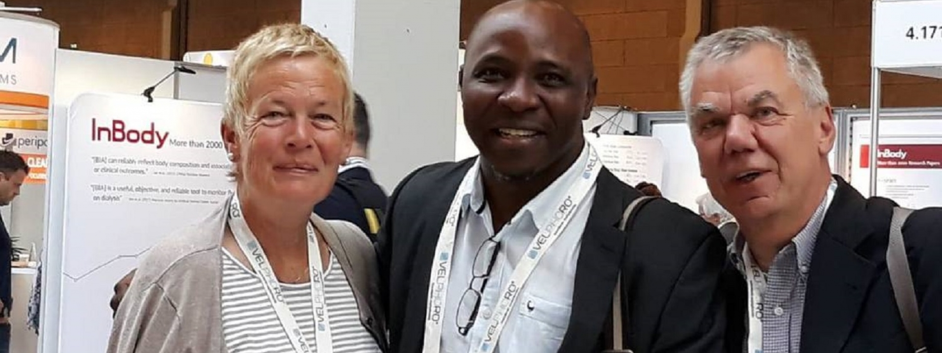 Ike Okpechi and Prof Peter Heering (UCT Renal unit visiting professor from Germany) at the 2018 ERA-EDTA Congress in Copenhagen, Denmark.